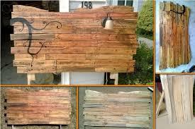 Wood Pallet Headboard Pallet Headboard Diy Instructions Modern House Design Wood