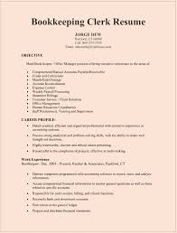 free resume template accounting clerk resume bookeeping resume city espora co