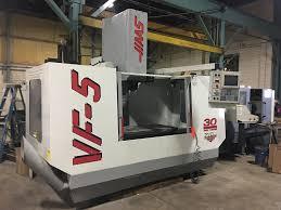 haas vf 5 50 cnc vertical machining center s u0026m machinery sales