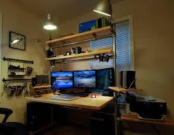 Cool Computer Desk Creative Of Unique Computer Desk Ideas Small Office Design