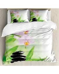 Zen Bedding Sets Winter Shopping Deals On Spa Size Duvet Cover Set Zen