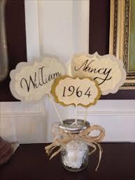 50th wedding anniversary favors 50th anniversary paper products 50th wedding anniversary