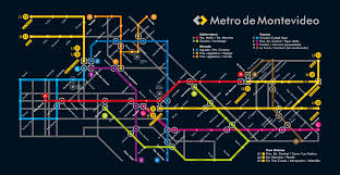 Metro In Chicago Map by Fake Metro Map Of Montevideo Big Think