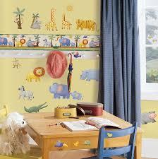 Decorative Wallpaper Borders Amazon Com Roommates Rmk1137bcs Jungle Adventure Peel U0026 Stick