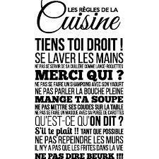 stickers pour la cuisine stickers texte cuisine finest gallery of stickers texte en spi with