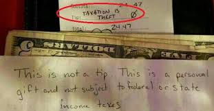 Theft Meme - the taxation is theft meme has officially gone mainstream