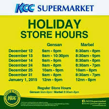 mall hours best 2017