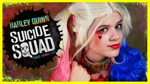 Diy Makeup Halloween by Harley Quinn Squad Makeup Tutorial Diy Halloween
