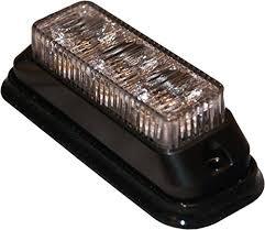 surface mount led strobe light 3 diode truck trailer