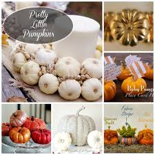 pumpkin decoration decorating with mini pumpkins create and babble