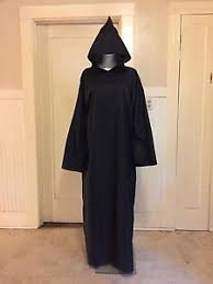 ritual robes and cloaks cloak black pointed maxi robe witch ritual