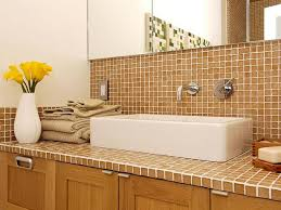 Tile Bathroom Countertop Ideas Tile Bathroom Countertops Home Interior Ekterior Ideas