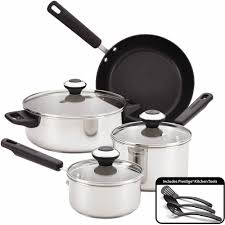Induction Cooktop Walmart Nuwave Stainless Steel Pot Set Silver Walmart With Nuwave Cookware