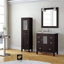 torvisco loira wenge 70cm vanity unit set u2013 chic bathrooms