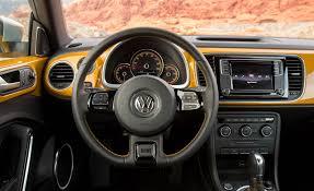 volkswagen beetle modified interior 2016 volkswagen beetle dune interior steering and speedometer