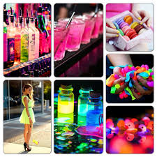 neon party ideas my neon party theme board neon glow party neon