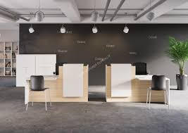 banque de bureau banque d accueil design wolkom