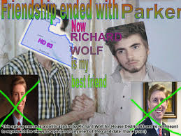 Wolf Meme - texas house candidate richard wolf uses memes to caign