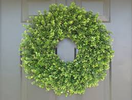 decor boxwood wreaths mini boxwood wreath artificial boxwood