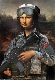 Mona by Private Mona Lisa The Soldier Pictures Freaking News