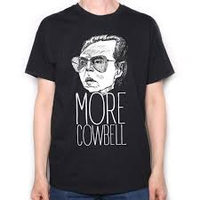 inspired by saturday night live t shirt more cowbell christopher