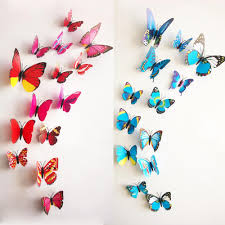 3d wall stickers 6 big 6 small pvc 3d butterfly tatoos wall 3d wall stickers 6 big 6 small pvc 3d butterfly tatoos wall sticker home decoration decals diy designer wall stickers dinosaur wall decals from