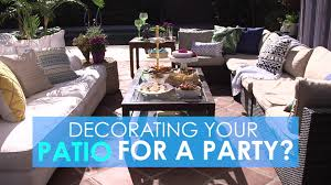 Patio Party Decorations Watercolor Party Decorations Hgtv