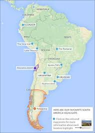 south america map bolivia places to visit on a south america overland south america