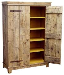 rustic barnwood kitchen cabinet rustic accent chests and