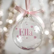 personalised papercut glass bauble studio glass and cricut