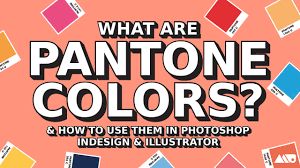Pantones by What Are Pantone Colors U0026 How To Use Them In Adobe Products Youtube