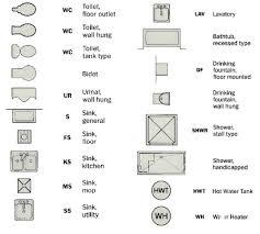 architectural symbols for floor plans house blueprints