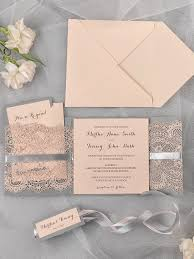 lace invitations grey and lace wedding invitation pocket by 4lovepolkadots