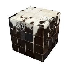 furniture stunning image of decorative square furry white cube