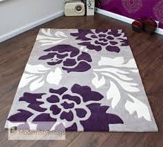 Luxury Rug Modern Decoration Purple Living Room Rugs Extremely Inspiration