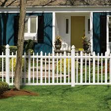 Types Of Garden Fences - vinyl picket fence panels brown u2014 bitdigest design types of