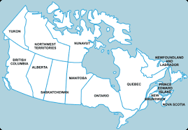 map of the provinces of canada map provinces of canada major tourist attractions maps