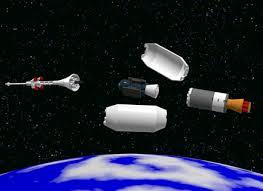 lego ideas soyuz rocket with spacecraft