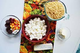rice krispie turkey treats for thanksgiving