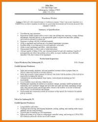 Warehouse Job Resume by Warehouse Job Description Resume Template Billybullock Us