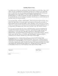 inspirational collection of hold harmless agreement texas