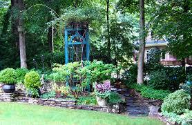 Wall Garden Ideas by Stone Walkway Ideas U0026 Stone Wall Hardscape Inspiration