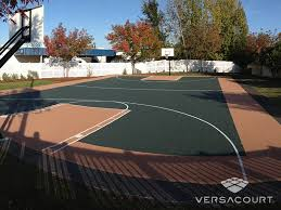 versacourt indoor outdoor u0026 backyard basketball courts