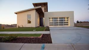 southwestern home rising up to modern southwestern home rises from the