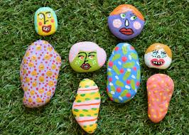 Glow In The Dark Garden Rocks by 5 Clever Rock Painting Ideas Hgtv