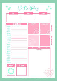 free printable 2016 day planner printable daily planner daily calendar template excel daily