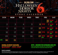 best day to go to halloween horror nights halloween horror nights 6 revealed dejiki com