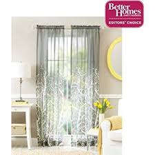 Better Homes And Gardens Shower Curtains Amazon Com Better Homes And Gardens Arbor Springs Semi Sheer