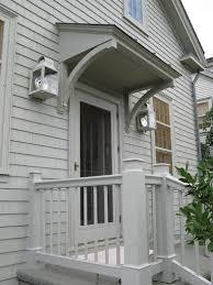 Building Awning Over Door 56 Best Back Door Overhangs Images On Pinterest Architecture