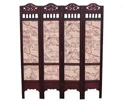 Wood Divider Japanese Hand Painted Wood Room Divider Surripui Net